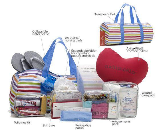 The BFFL Mommy Prepacked Hospital Bag