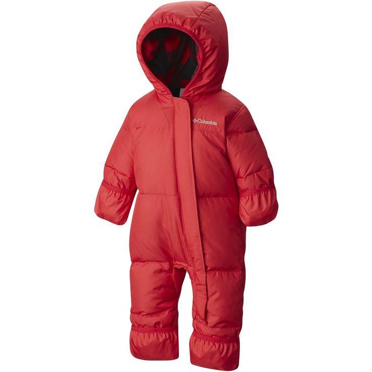 Колумбия - Snuggly Кролика вниз Бантинг - Товары для новорожденных мальчиков - Mountain Red / Mountain Red Пла
