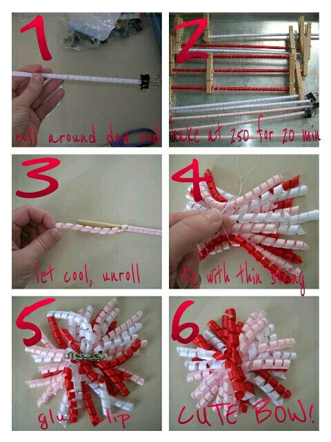 How to make curly ribbon bows  The link is broken and I searched… hate to repin something that isn't a real link, but I like the tutorial...