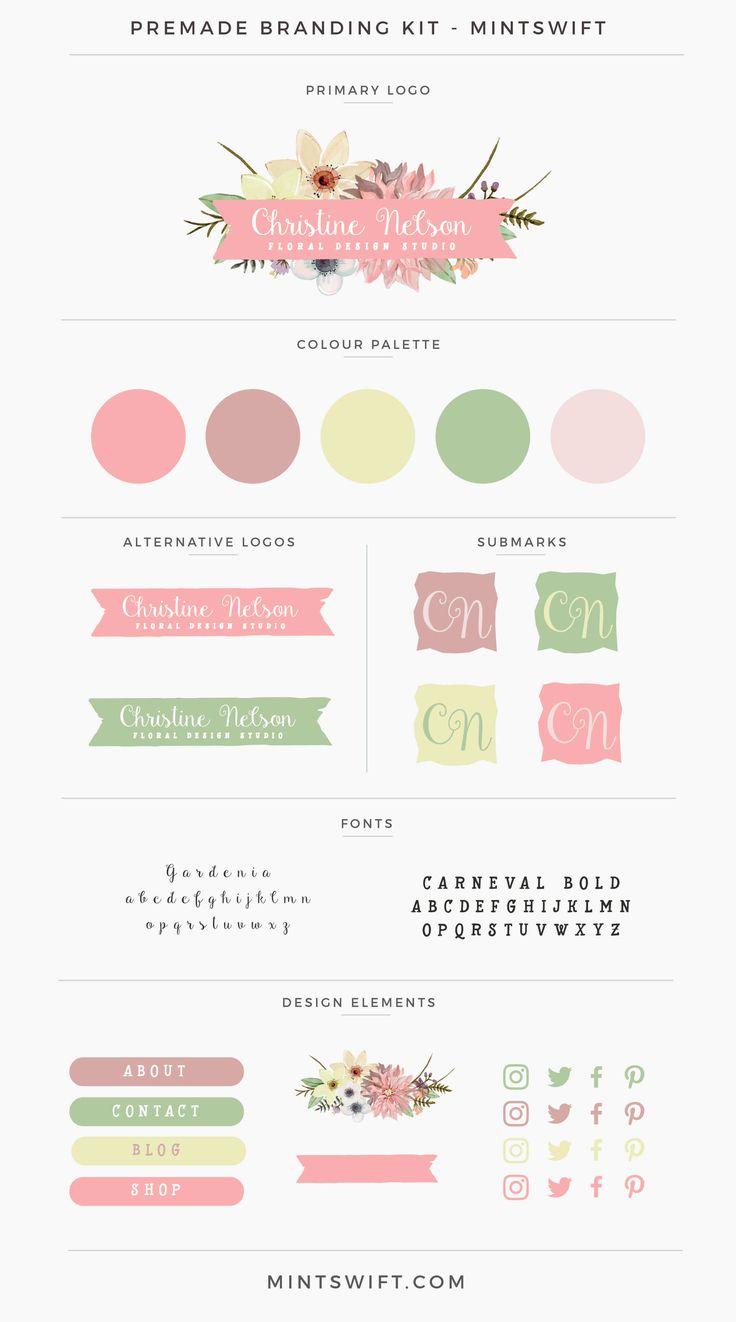 Christine Nelson Premade Branding Kit