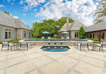 Private Residence - French Casual - traditional - patio - dallas - Harold Leidner Landscape Architects