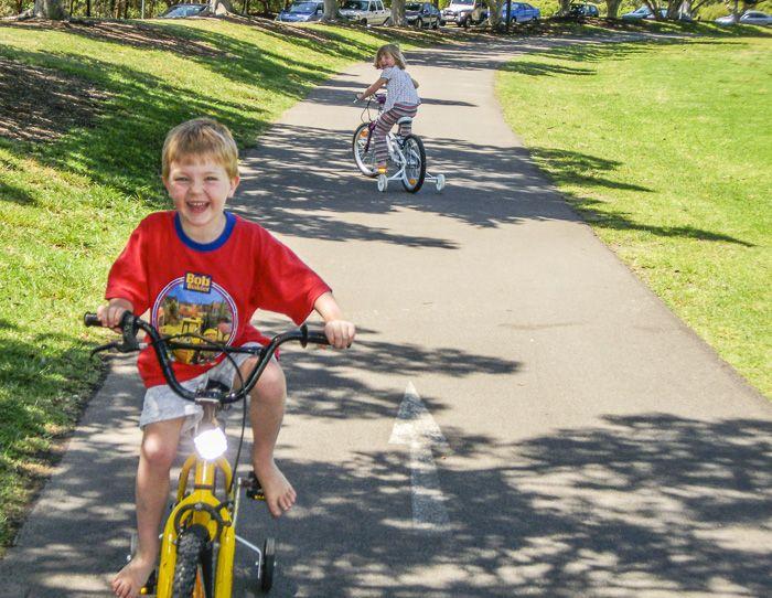 Bicentennial Park Playground Cycling Sydney Olympic