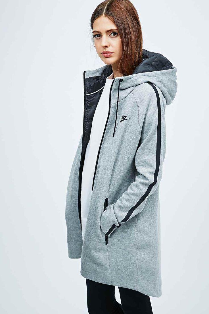 Nike - Parka technique Aeroloft grise en polaire - Urban Outfitters