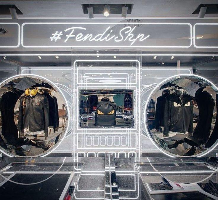 "FENDI, SKP Mall, Beijing, China, ""Dear Men..."", (Fall/Autumn/Winter), pinned by…"