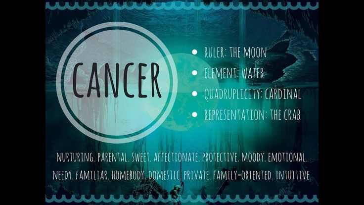 The Cancer Personality