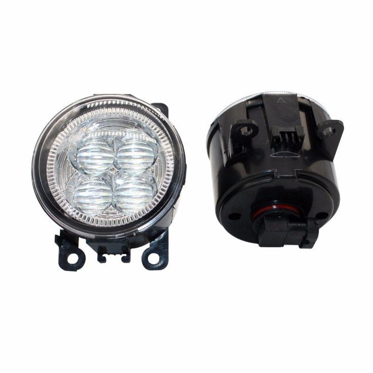 44.04$  Watch now - LED Front Fog Lights For LAND ROVER FREELANDER 2 LR2 2006-2014 Car Styling Bumper High Brightness DRL Driving fog lamps 1set  #aliexpressideas