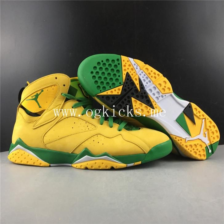 Air Jordan 8 Retro Yellow Green Limited