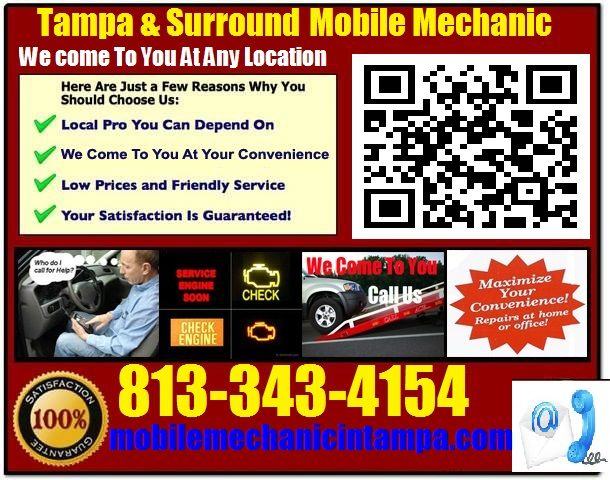 Mobile Auto Mechanic In Tampa Car Repair Service