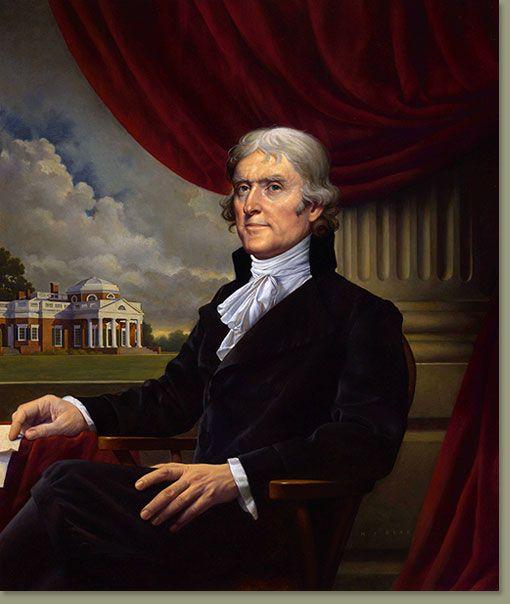 Thomas Jefferson by Michael J Deas