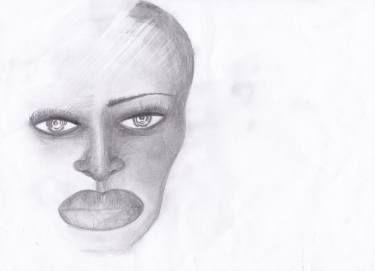 """Saatchi Art Artist Dorota Ziolko; Drawing, """"mirror"""" #art"""