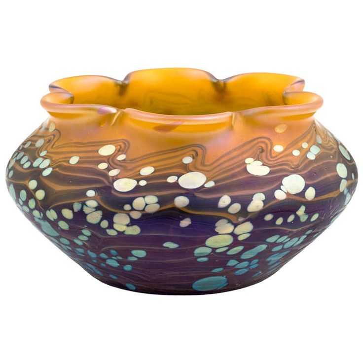 Loetz Vase Cytisus Decoration | From a unique collection of antique and modern vases at https://www.1stdibs.com/furniture/dining-entertaining/vases/