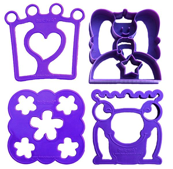 Sandwich Cutters - Sand*wishes* - perfect for princesses!