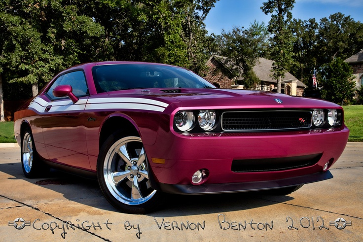 Alison's 2010 Furious Fuchsia Challenger RT Classic - ART OF THE MACHINE PHOTOGRAPHY