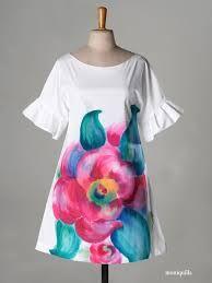 vestidos de manta pintados a mano - Buscar con Google