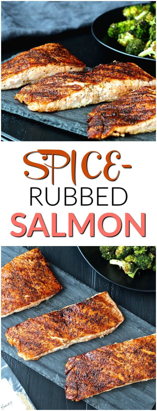 Spice-Rubbed Salmon | @foodiephysician