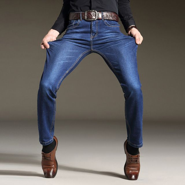 Check it on our site 2017 New Spring Summer Men Jeans AFS JEEP Brand Jeans With Stretch hombre mcalca Jeans Big size 42  Whole Brand Jeans WG007 just only $28.89 with free shipping worldwide  #jeansformen Plese click on picture to see our special price for you