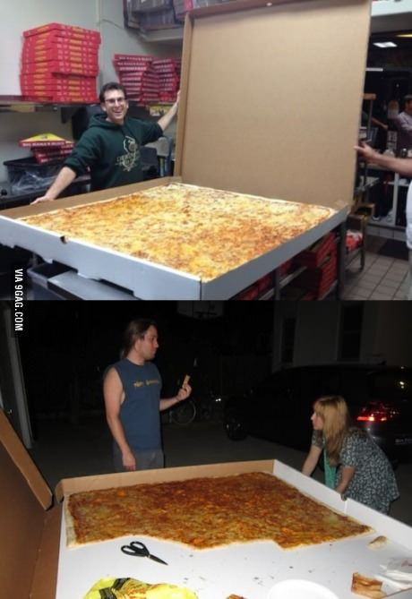 ginormous! World's Largest Pizza!