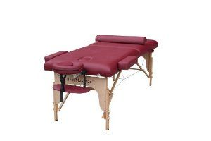 Burgundy 77 Long 30 Wide 4 Pad Portable Massage Table Spa Bed by BestMassage. $96.88. Free Face Pillow and Half Round Bolster. Free Adjustable Headrest. Free Hanging Armshelf. Free Deluxe Carring Case. 77 Long 30 Wide 4 Pad. This table simply is the best table you can get in the market and still a bargain for the price, This table comes complete with all functional components and luxury design. The frame is made of beech to ensure professional strength with a weight...