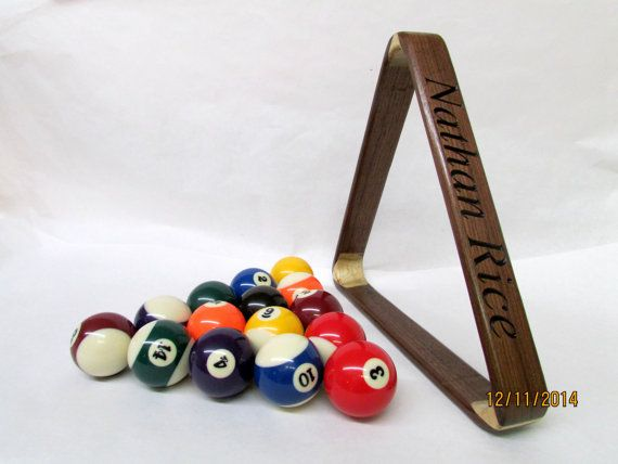 14 best man cave ideas images on pinterest groomsman gifts man wooden personalized pool rack billiard rack man cave gift for him groomsmen gift customized gift gift for dad easter gift negle Images
