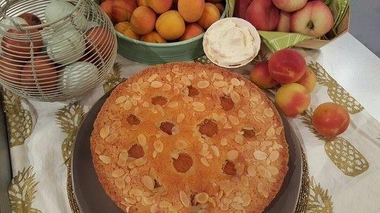 Nisha Katona's apricot and almond tart