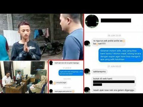 DUH! Beginilah Nasib Bocah Yang Hina Polisi di FB, Ternyata Siswa SMA (J...