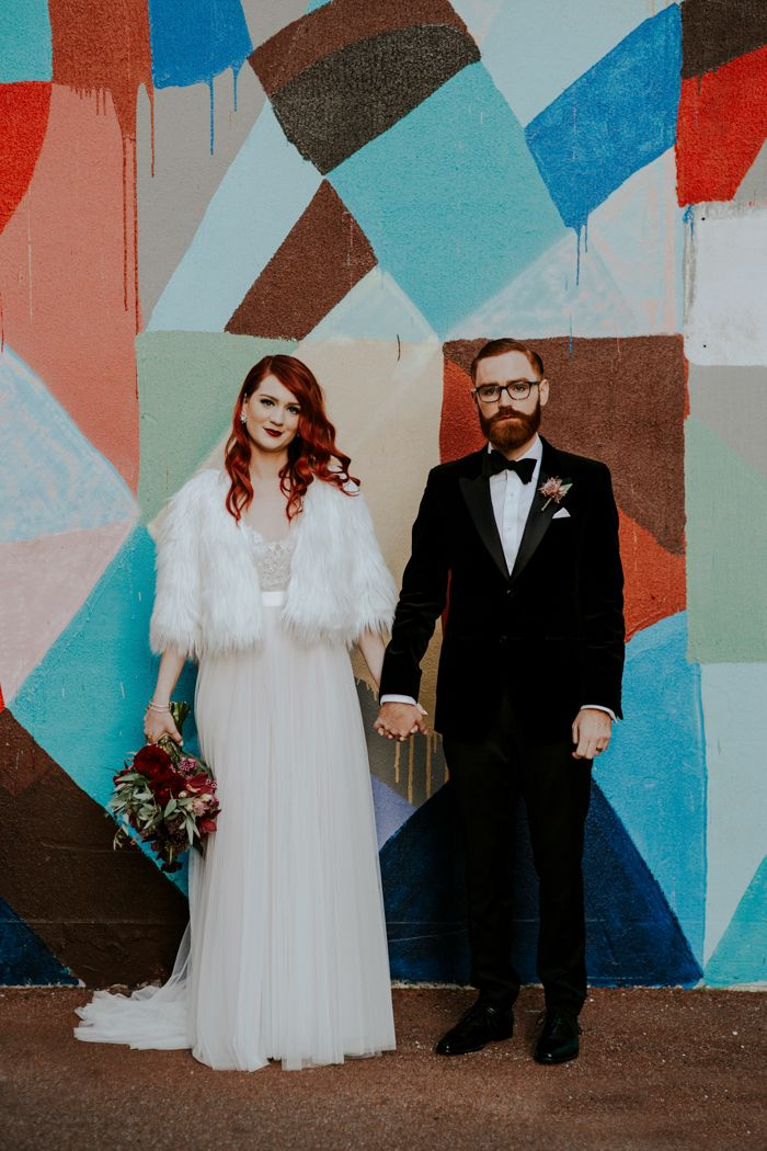 Artsy wedding at the Flour Factory  Image by LiFe Photography