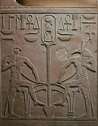 Batalla de Horus y Seth. la parte más importante del Papiro Chester. Es la historia mitológica quer nos cuenta las batallas entre Horus y Seth para ver quién será el sucesor al trono de Osiris.