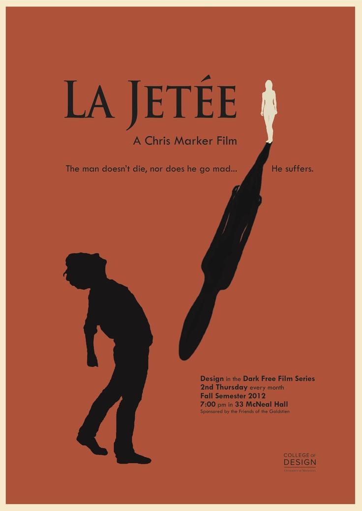 la jetee essay However you define chris marker's 1963 short la jetée—philosophical fiction,   in his 1983 essay film sans soleil, marker alludes to both vertigo and la jetée.