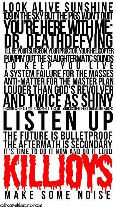 Na Na Na | Danger Days: The True Lives of the Fabulous Killjoys | My Chemical Romance | MCR Lyrics | Dr. Death Defying