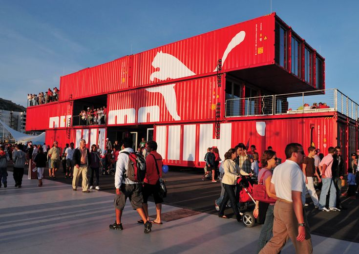 puma container store: GBH interview on designboom