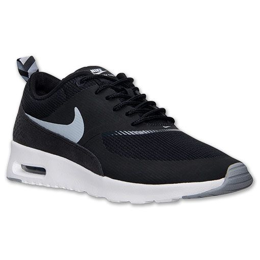 Christmas List - Women's Nike Air Max Thea Running Shoes | Finish Line | Black/Grey/White (size 8.5)