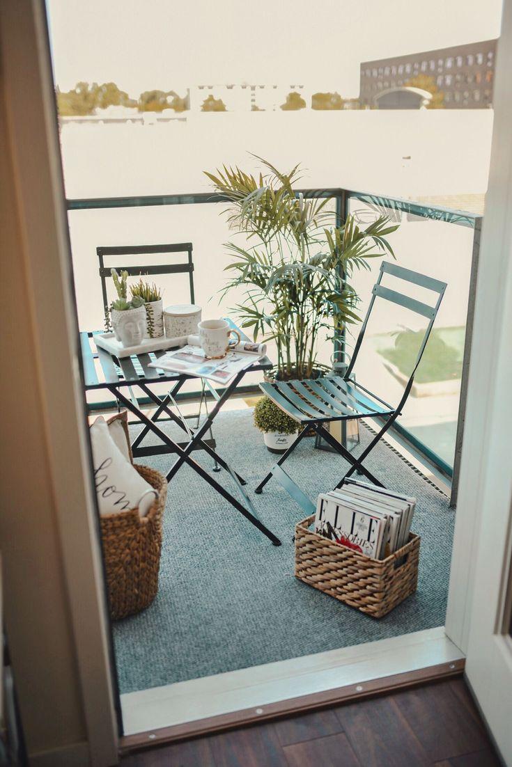 SUMMER BALCONY DECOR IDEAS AND INSPIRATION Small balcony