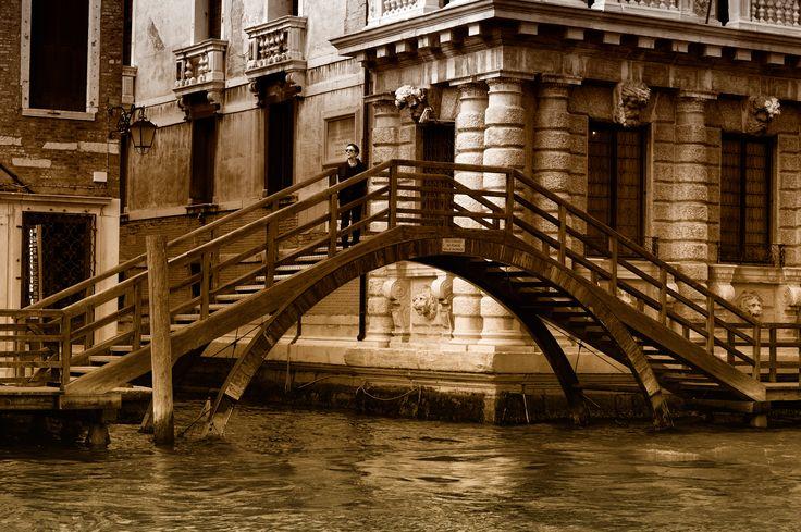 мост со львом