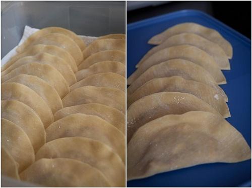 Pork Filled Dumplings / 水餃 / Shuigao