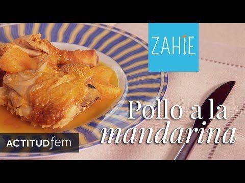 Pollo en salsa de mandarina | Mandarine Chicken: Salsa de mandarina| Zahie Tellez - YouTube