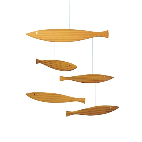 Floating Fish Mobile, Floating Fish Mobiles & Flensted Floating Fish Mobiles | YLiving