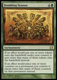 Doubling Season - Enchantment - Cards - MTG Salvation