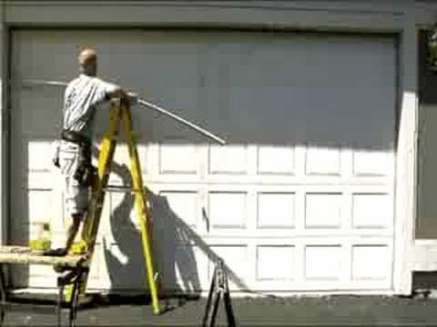 How to Replace Garage Door Bottom Seal Weatherstripping - YouTube