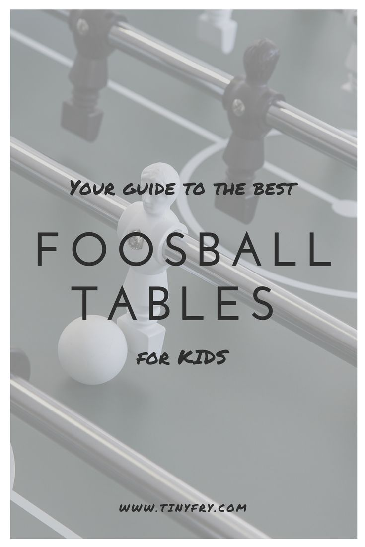 Looking for the best foosball table for your kids? We've created a list of your best options. Perfect for the basement or the game room, we have lots of ideas your family will absolutely love. From modern to traditional to travel foosball tables, all you need is the players, we'll bring the recommendations. Check out the best ones right here!