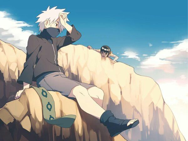 Kid Kakashi & Kid Gai