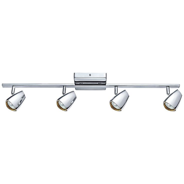 Eglo Corbera Polished Chrome 4 Light Track Kit Style 8r017