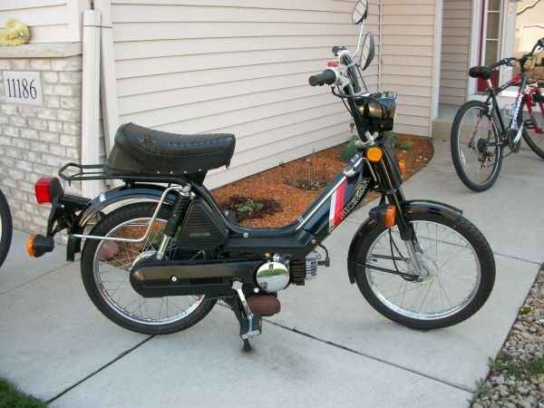 1983 honda pa 50 moped hondas pinterest mopeds honda and moped scooter. Black Bedroom Furniture Sets. Home Design Ideas