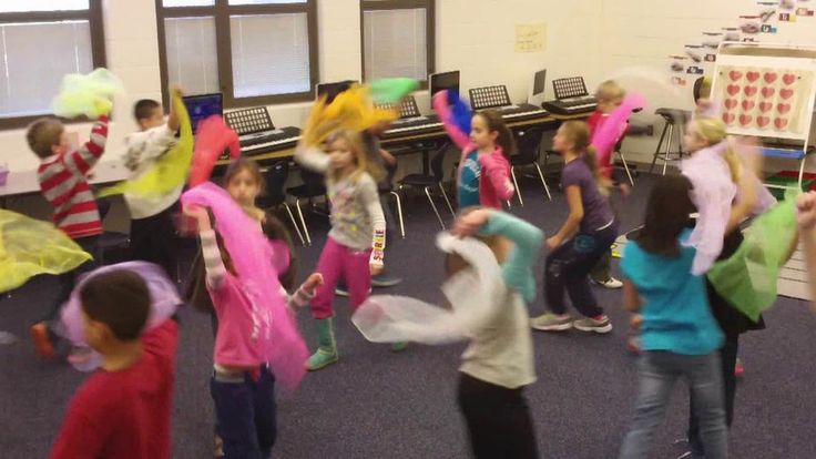 "Fourth graders created their own choreography for some of the dances from Act II of Tchaikovsky's ""The Nutcracker"" ballet. Here is Mrs. Triplett's…"