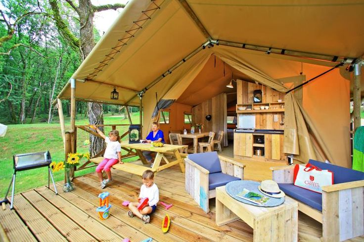 Safari Tent Luxury - 2 bedrooms - 1 bathroom
