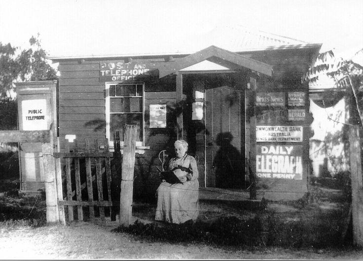 Pokolbin Post Office. Sarah Jane Sutcliffe nee Blick. Early 1900s. History of the Hunter Valley, NSW Wine Country, Australia