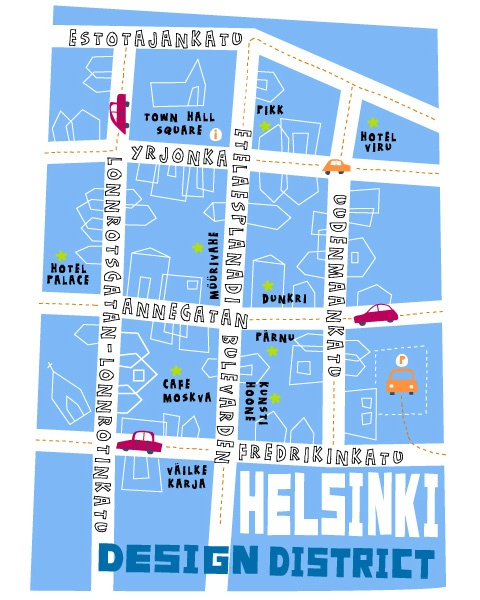 The Design District (1000 Places, New York Times) - Helsinki, Finland