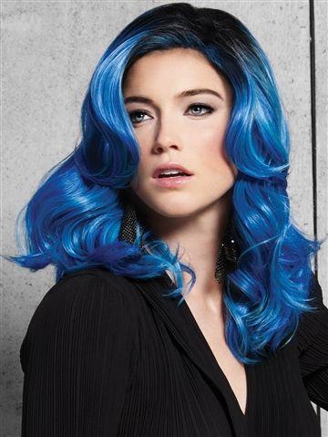 Blue Waves, Heat Friendly Synthetic Wig by HairDo – WowWigs.com