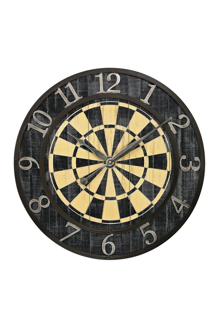 Dart shirt design your own - Dart Board Wall Clock