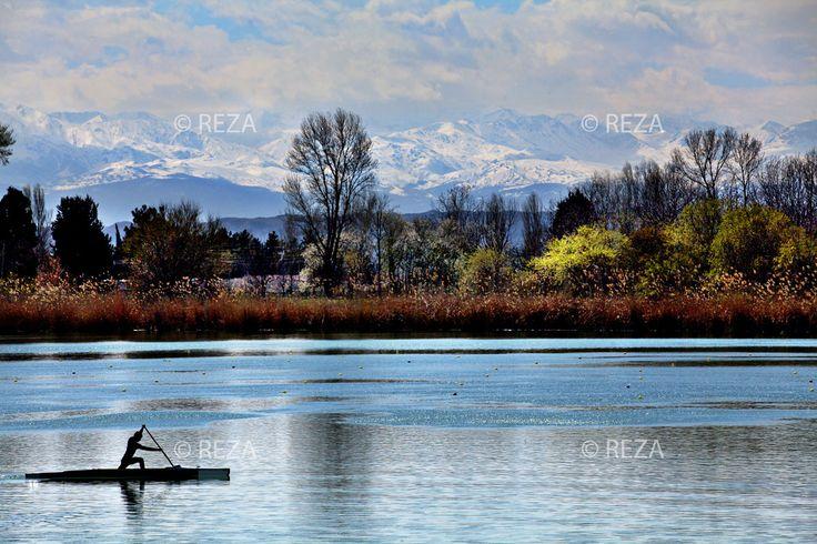 Azerbaijan, Ganjabasar, Mingechevir, Kur River, April 1, 2012 Mingecheviriscurrently home to the KurOlympic rowing base. #Azerbaijan #Eleganceoffire #Rezaphoto