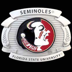 Florida state football 25 pinterest florida state oversized belt buckle voltagebd Choice Image